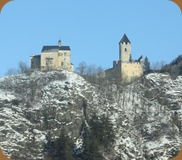 Castle on a hill in Germany
