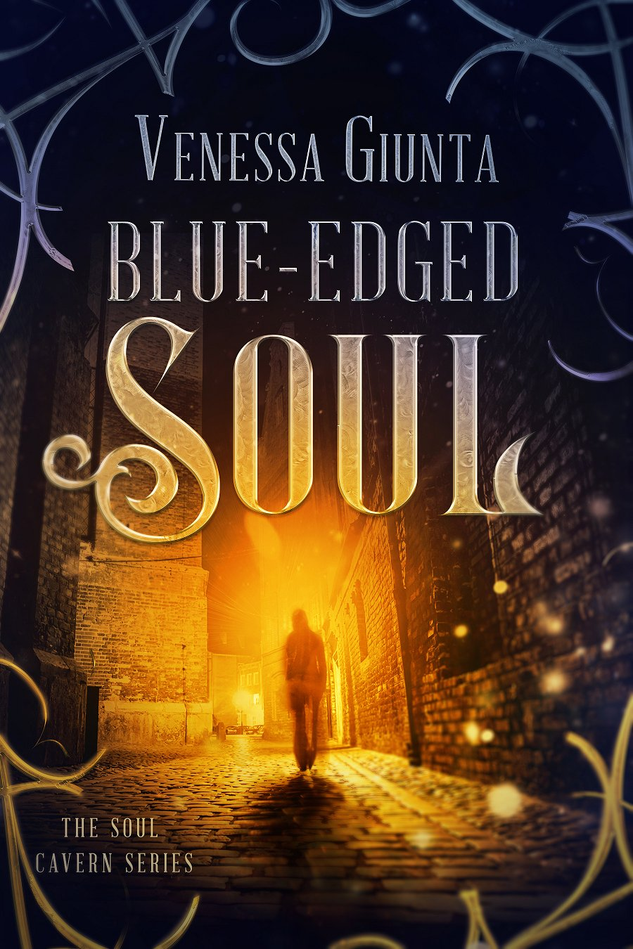 Book Cover: Blue-Edged Soul (Soul Cavern Series 1.5)