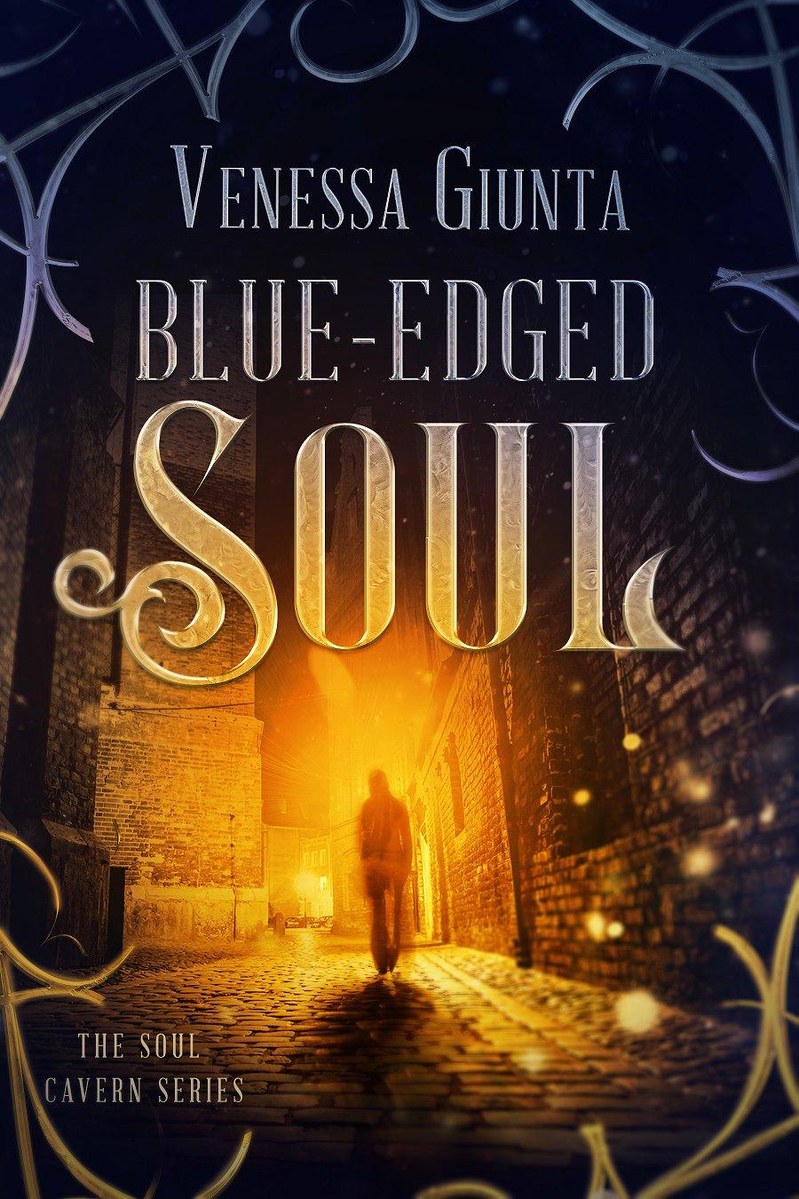 Book Cover: Blue-Edged Soul (Soul Cavern Series 1.5)